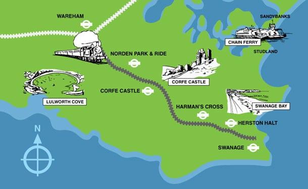 Explore Picturesque Purbeck Map