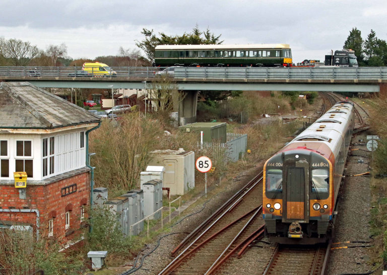 Sr Class 117 Dmu Wareham Station