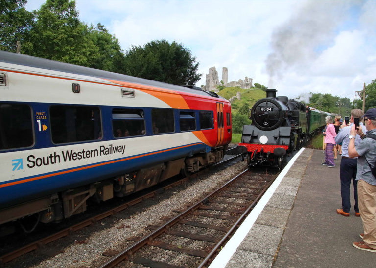 Purbeck Community Rail Partnership Gallery Corfe Castle Railway Station 24 1440x1024px