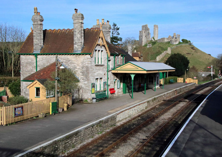 Purbeck Community Rail Partnership Gallery Corfe Castle Railway Station 25 1440x1024px