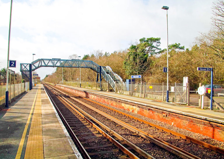 Purbeck Community Rail Partnership Gallery Holton Heath Railway Station 11 1440x1024px