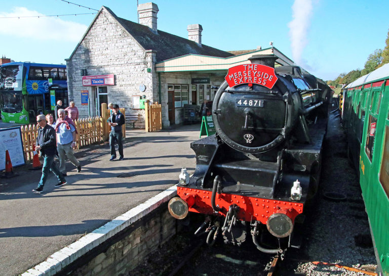 Purbeck Community Rail Partnership Gallery Swanage Railway Station 09 1440x1024px