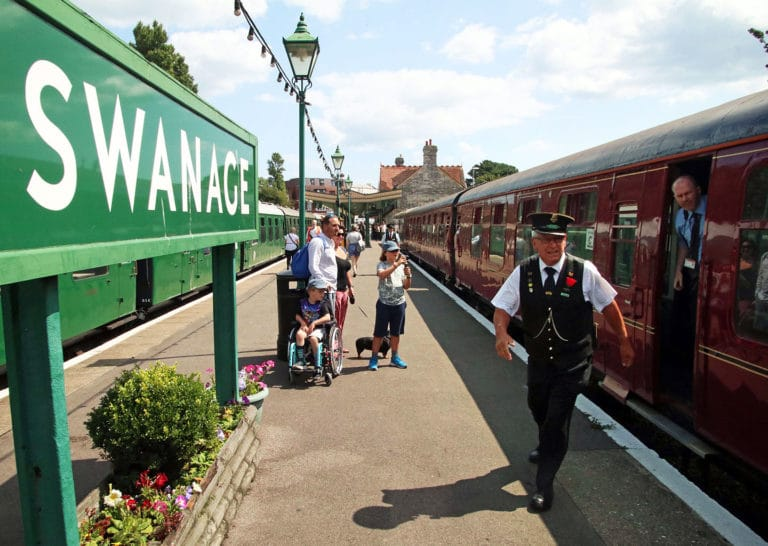 Purbeck Community Rail Partnership Gallery Swanage Railway Station 34 1440x1024px