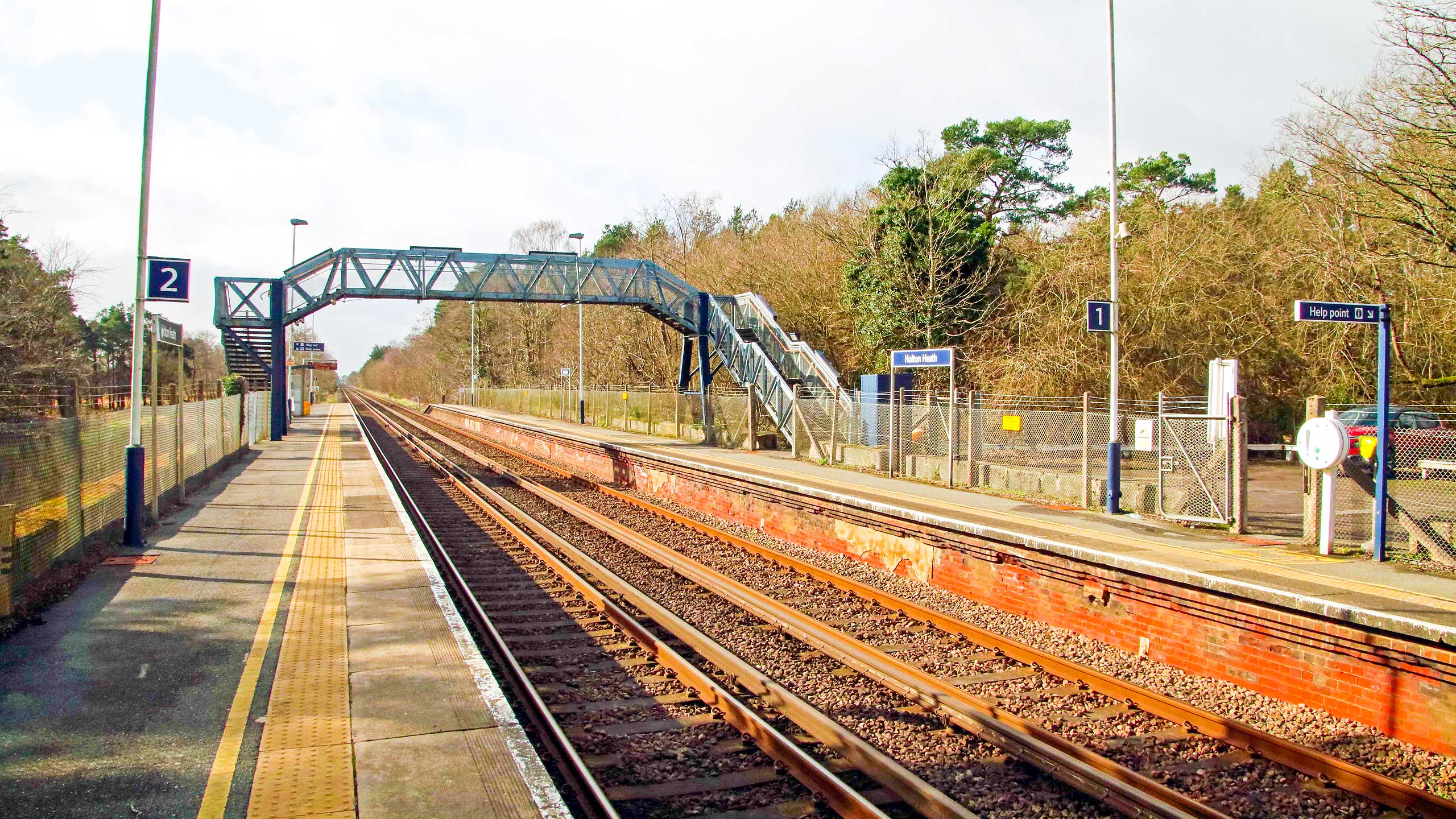 Purbeck Community Rail Partnership Sliding Banner Holton Heath Railway Station 11 2560x1440px