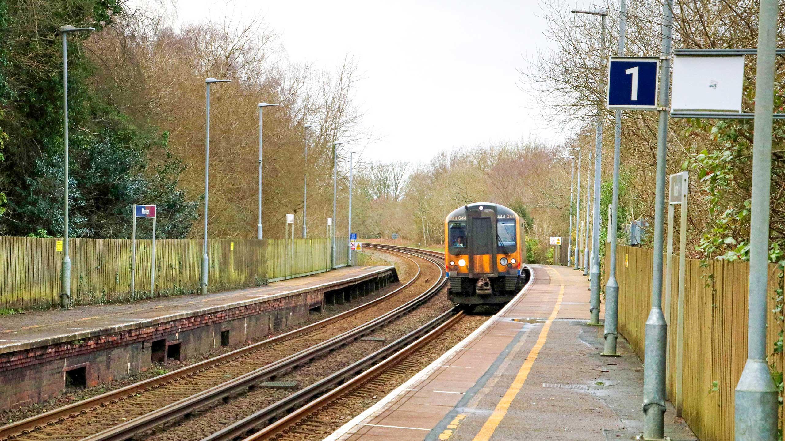 Purbeck Community Rail Partnership Sliding Banner Moreton Railway Station 01 2560x1440px
