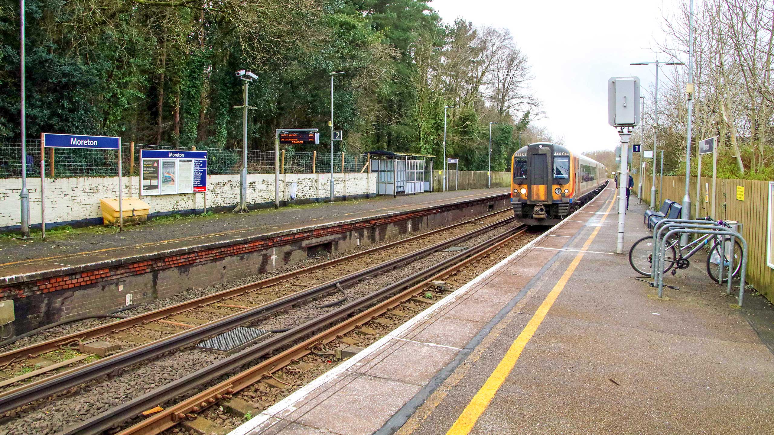 Purbeck Community Rail Partnership Sliding Banner Moreton Railway Station 05 2560x1440px