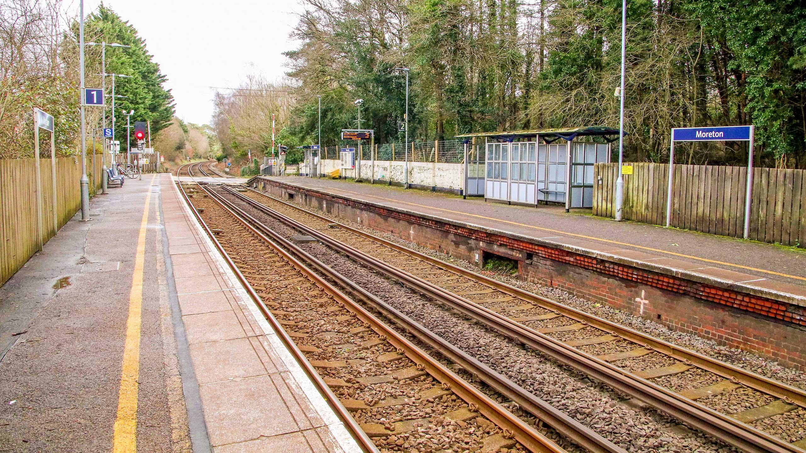 Purbeck Community Rail Partnership Sliding Banner Moreton Railway Station 08 2560x1440px