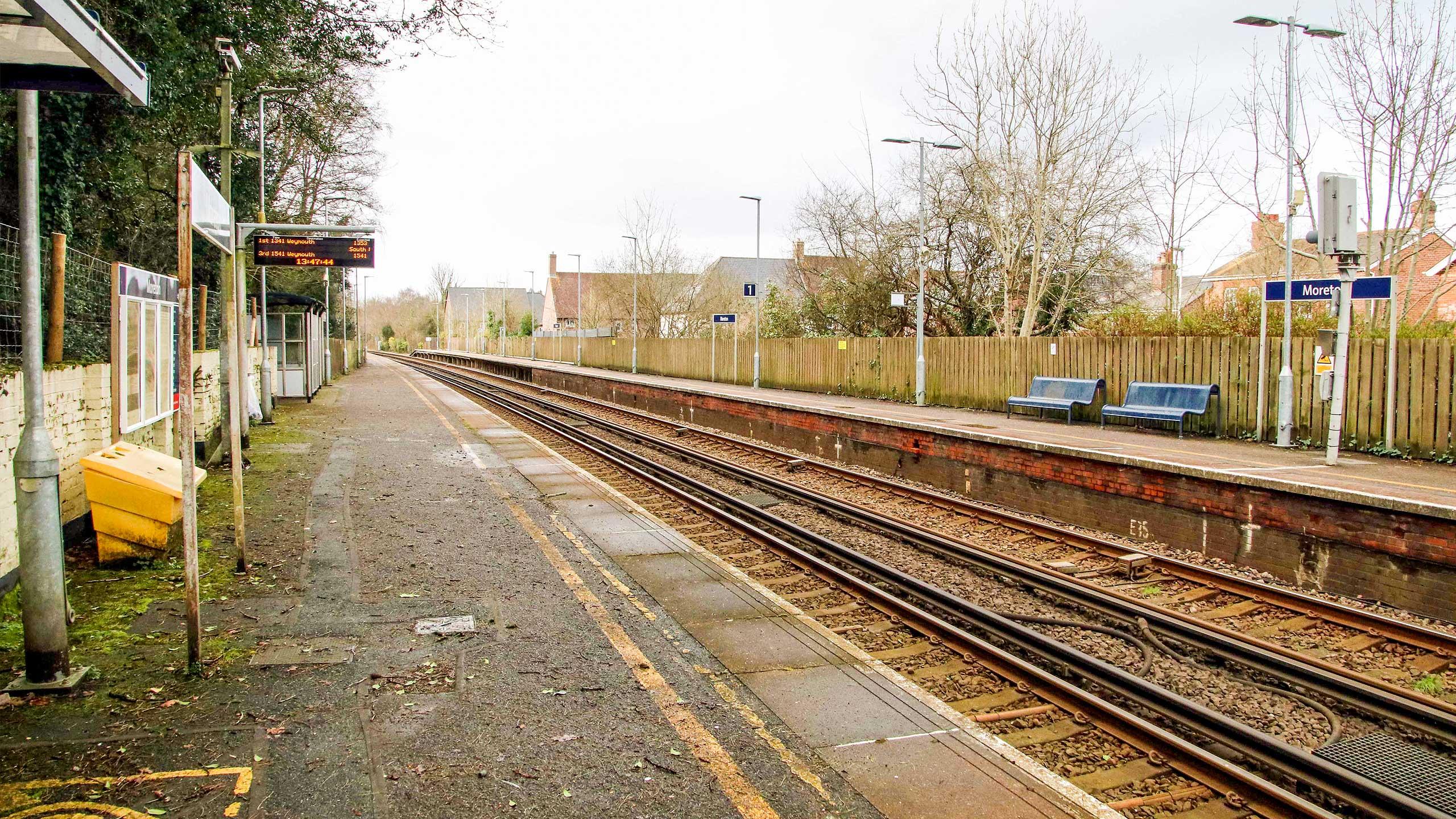 Purbeck Community Rail Partnership Sliding Banner Moreton Railway Station 11 2560x1440px