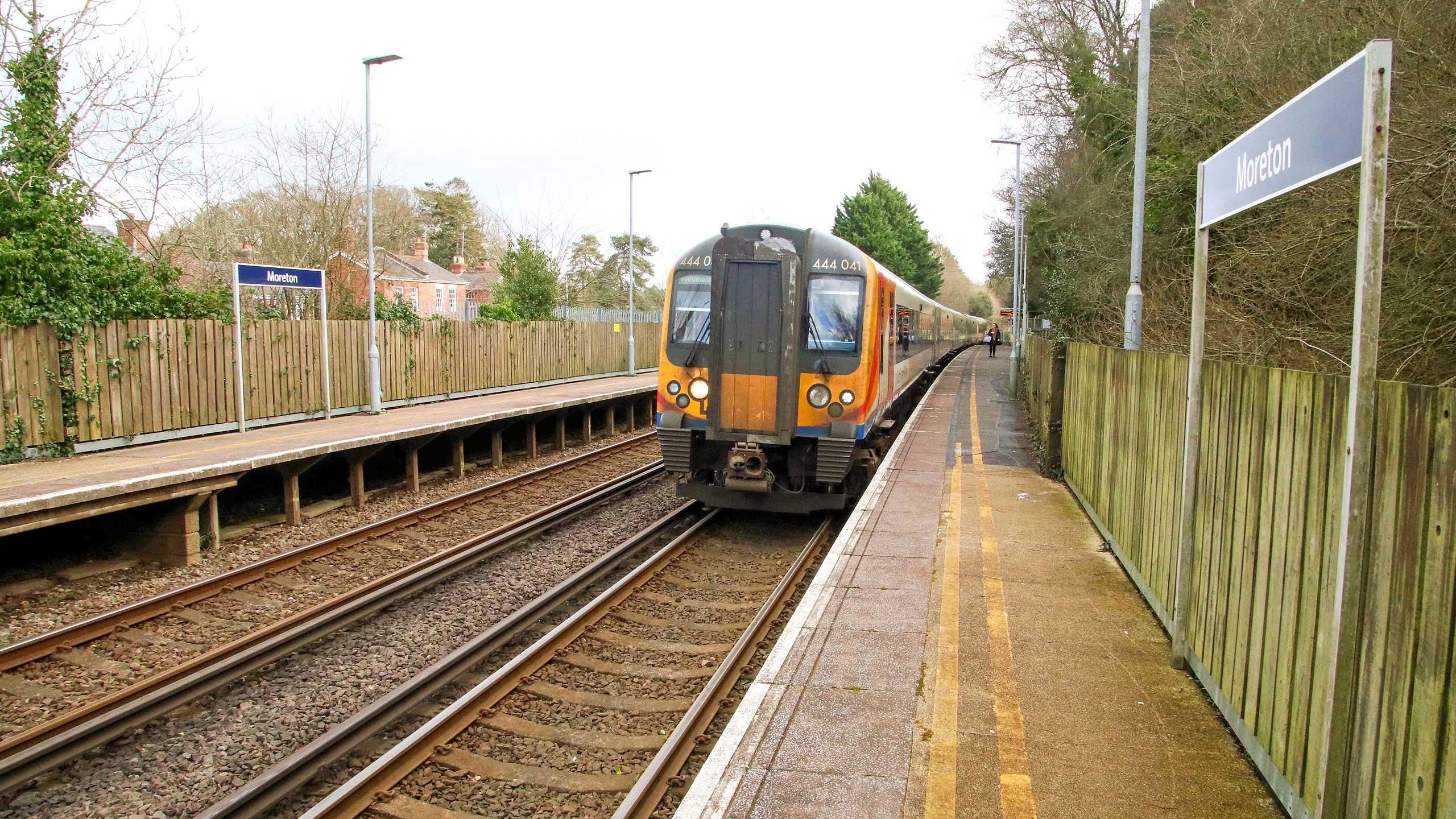 Purbeck Community Rail Partnership Sliding Banner Moreton Railway Station 18 2560x1440px