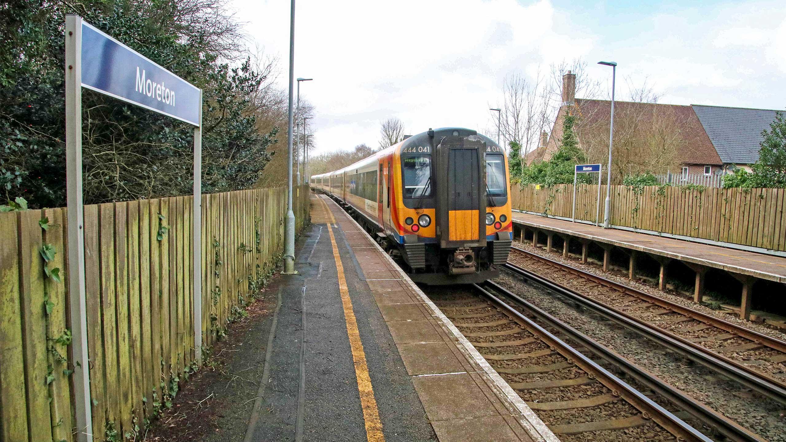 Purbeck Community Rail Partnership Sliding Banner Moreton Railway Station 21 2560x1440px