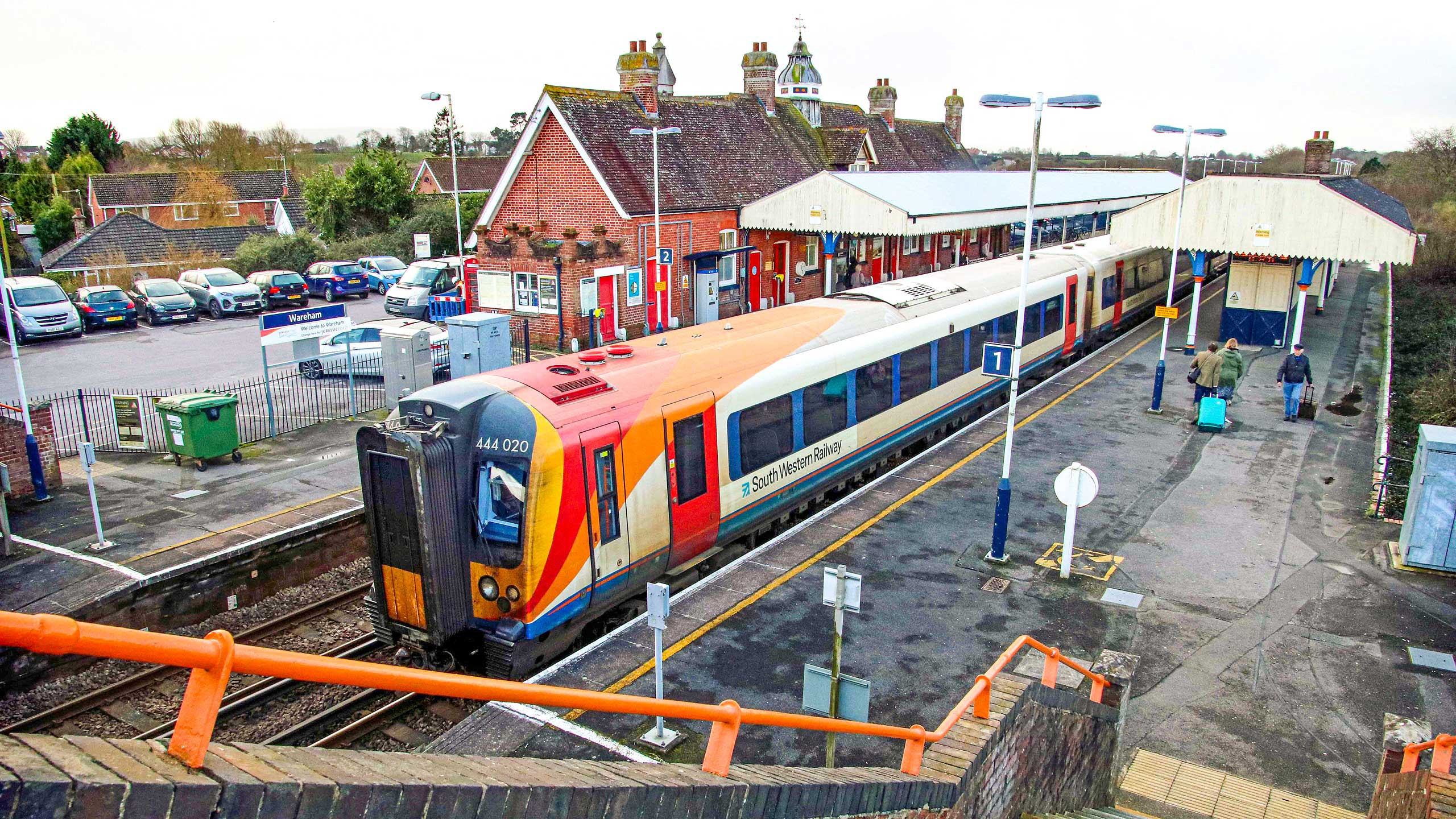 Purbeck Community Rail Partnership Wareham Train Station 003 2560x1440px