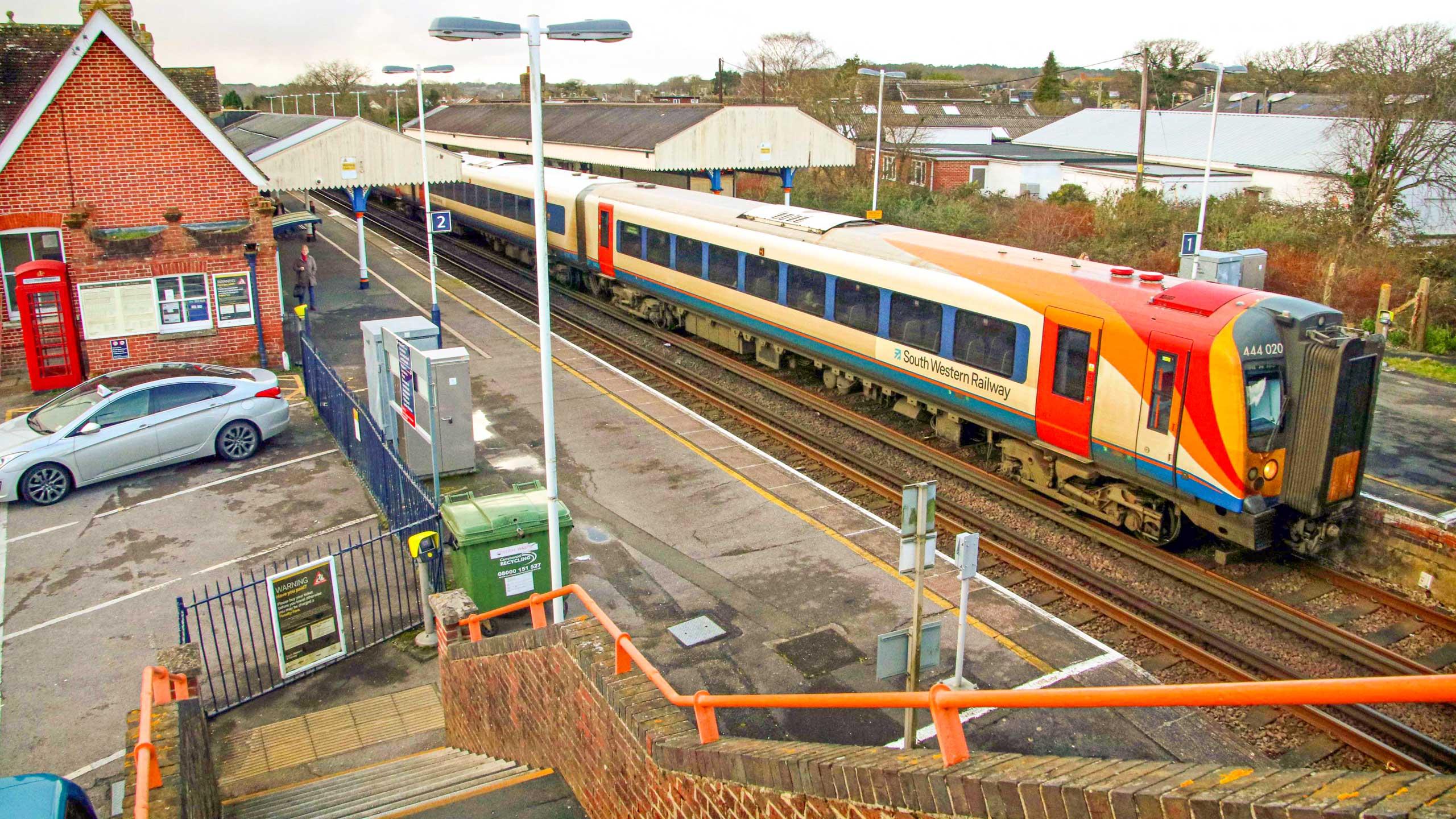 Purbeck Community Rail Partnership Wareham Train Station 004 2560x1440px