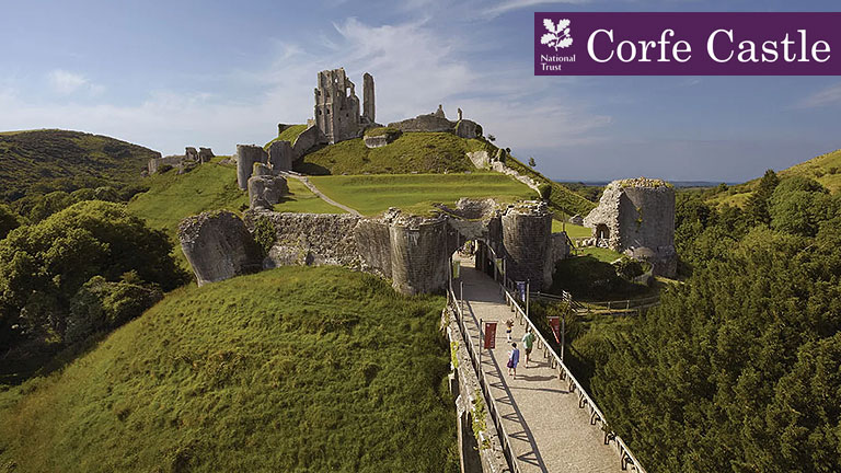 Corfe Castel The National Trust