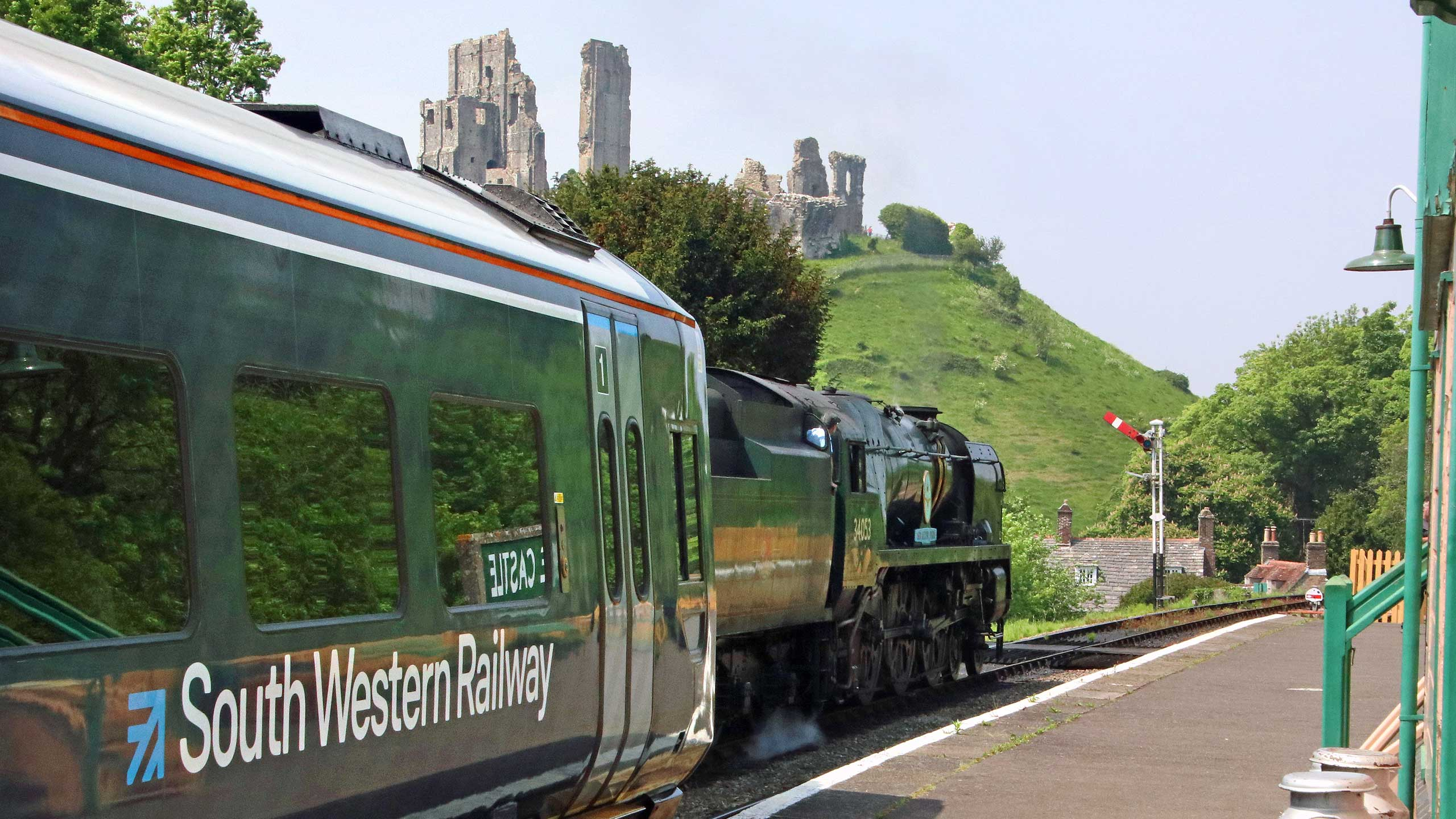 Purbeck Community Rail Partnership Contact Us Banner 2560x1440px