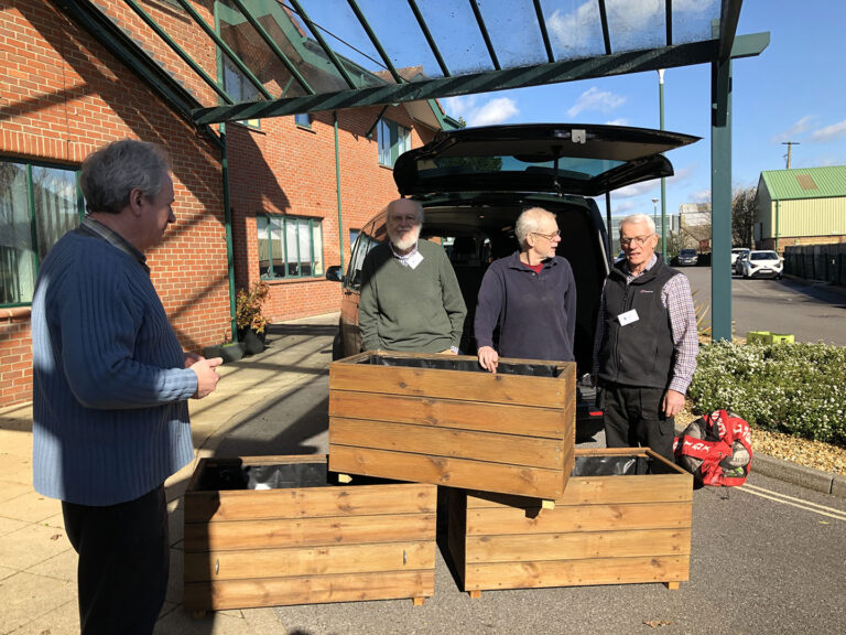 Planters For Holton Heath Station
