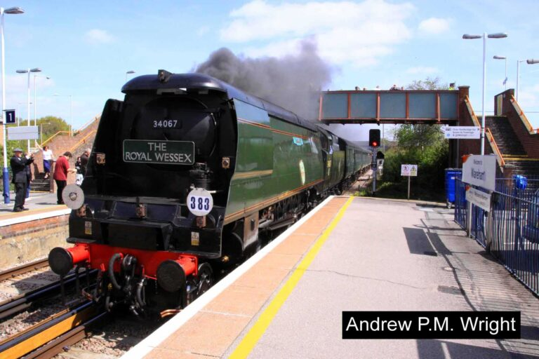 Wareham First London To Swanage Steam Train Andrew Pm Wright