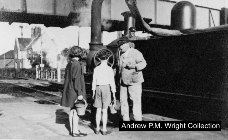 Wareham Station 1920s Andrew Pm Wright Collection